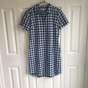 Boden Gingham T-shirt Dress
